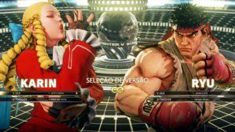 3 truques com Karin em Street Fighter V