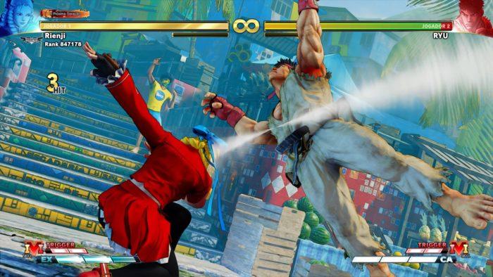 3 truques com Karin em Street Fighter V / Reprodução / Felipe Vinha