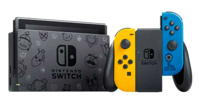 Nintendo Switch terá edição especial de Fortnite / Divulgação / Nintendo