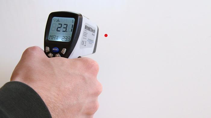 Termômetro infravermelho/Pixabay/Rupert B