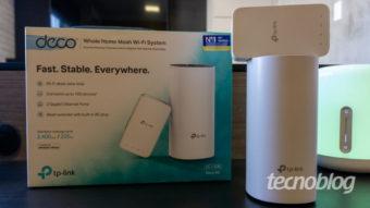 TP-Link Deco M3: rede mesh com design de repetidor Wi-Fi