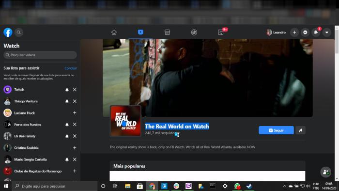 Tudo sobre Facebook Watch como assistir na TV, Celular, e PC / Leandro Kovacs / Foto