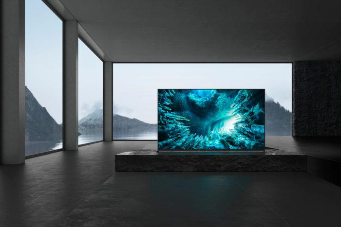 TV 8K Sony Z8H (Foto: Divulgação/Sony)