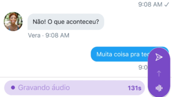 Como enviar uma DM por voz no Twitter
