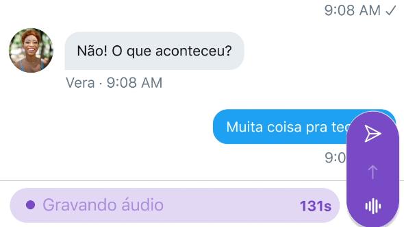 Twitter grava DM por voz / Imagem: Divulgação / Twitter