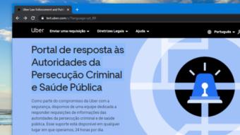 Uber lança portal no Brasil para rastrear usuários com COVID-19