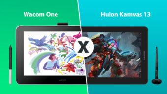 Comparativo: Wacom One ou Huion Kamvas 13; qual é o melhor?