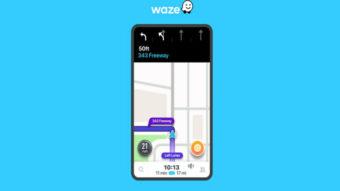 Waze ganha recurso do Google Maps que indica pista correta na estrada