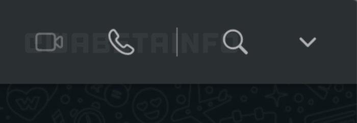 WhatsApp Web testa ícones para chamadas de voz e vídeo
