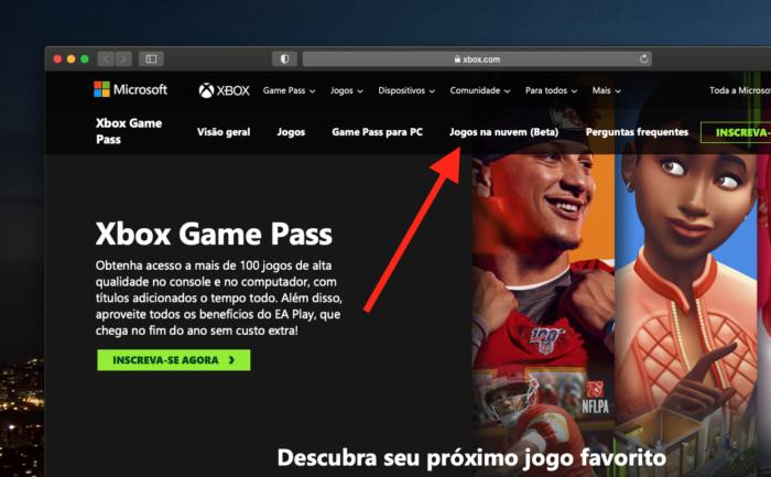 Xbox Game Streaming no brasil