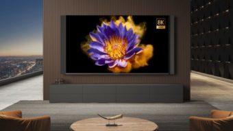 Xiaomi lança Mi TV Lux Pro de 82 polegadas com 8K e 5G