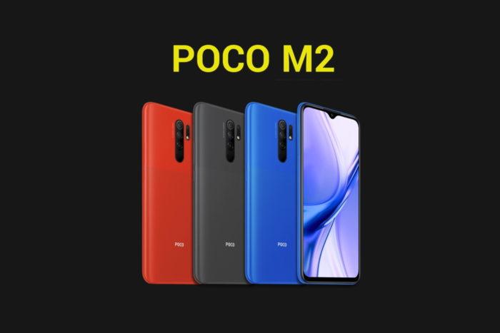Xiaomi Poco M2 (Foto: Divulgação/Poco)