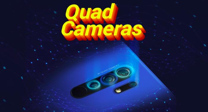 Xiaomi Poco M2 terá câmera quádrupla (Foto: Reprodução/Flipkart)