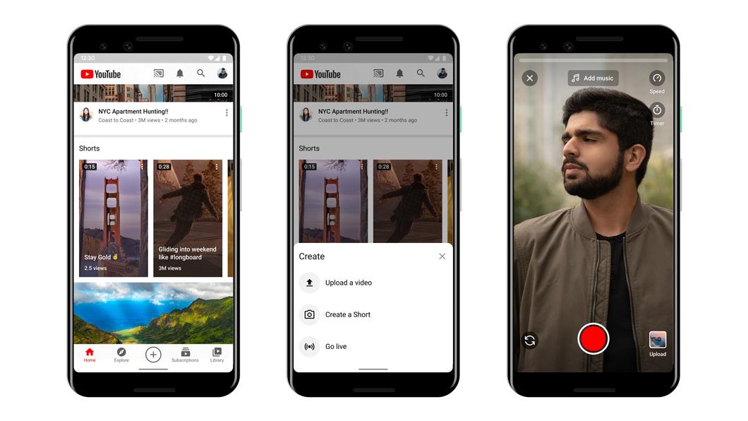 YouTube Shorts, novo rival do TikTok, é lançado oficialmente   Aplicativos  e Software   Tecnoblog