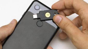 Chave de segurança YubiKey 5C usa NFC e USB-C para desbloqueio