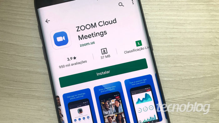 Zoom Meetings no Android