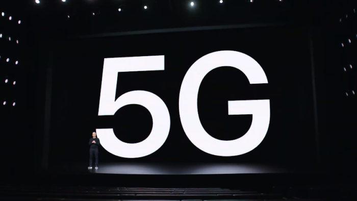 Tim Cook e 5G (Imagem: Apple)