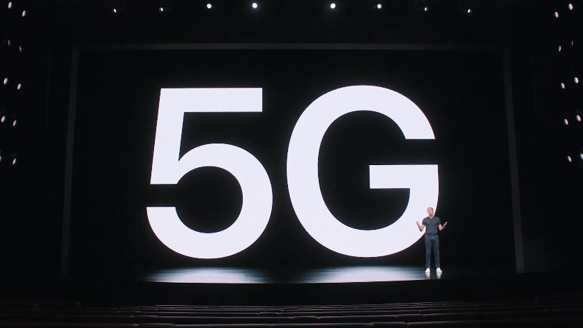 5G (Imagem: Apple)