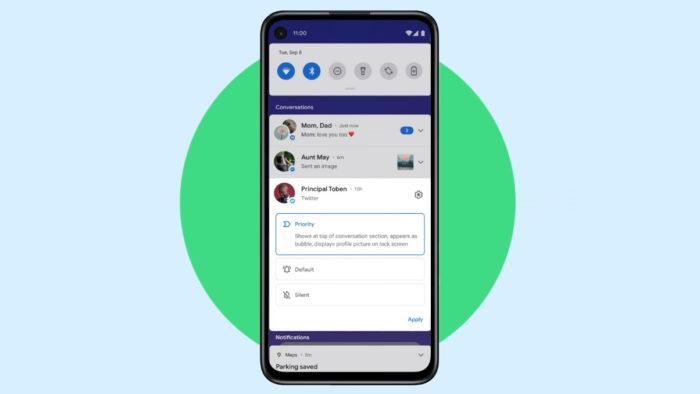 Android 11 (Imagem: Google)