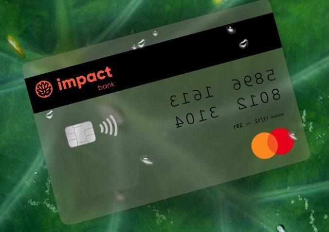 Cartão Impact Bank (Imagem: Divulgação / Impact Bank)