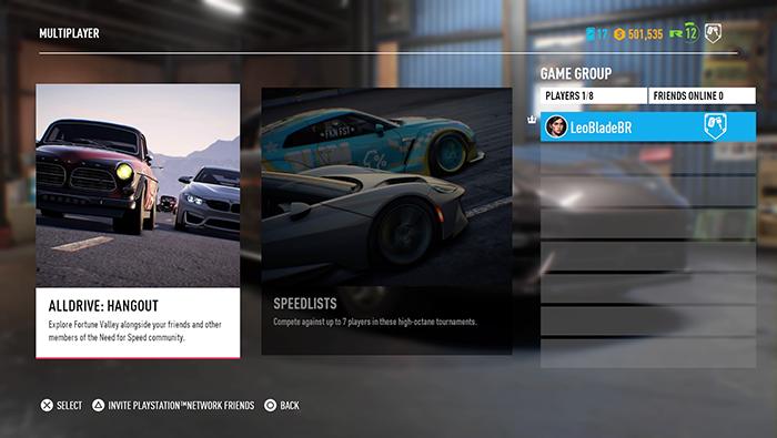Como jogar Need for Speed: Payback