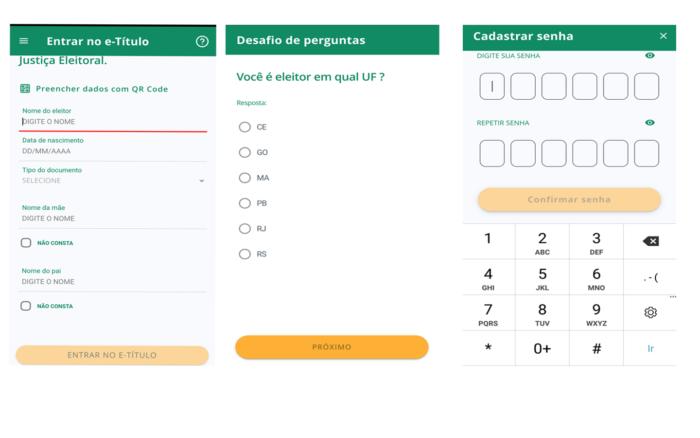 Como justificar o voto pela internet site do TSE e aplicativo