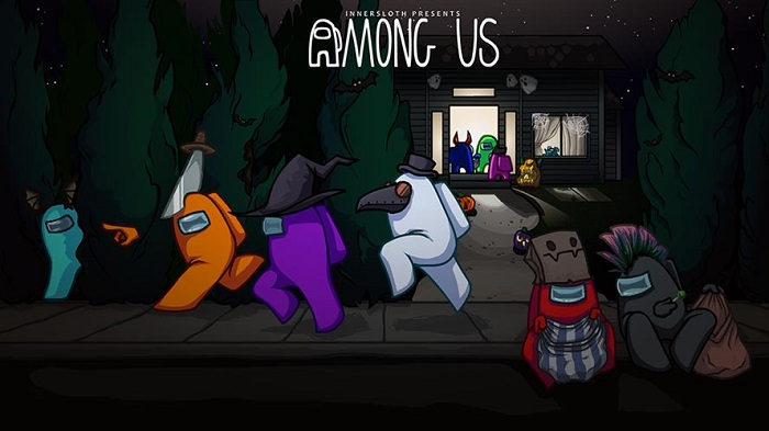 Among Us Halloween (Imagem: InnerSloth/Divulgação)