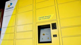 Correios instalam seu primeiro locker em SP para entrega de encomendas