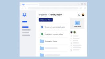Dropbox lança plano família para dividir 2 TB entre seis pessoas