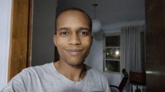 Foto tirada com a câmera frontal do <a href='https://meuspy.com/tag/Motorola-espiao'>Motorola</a> Moto G9 Play (Imagem: Darlan Helder/Tecnoblog)