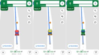 Google Maps permite trocar ícone de navegação no Android