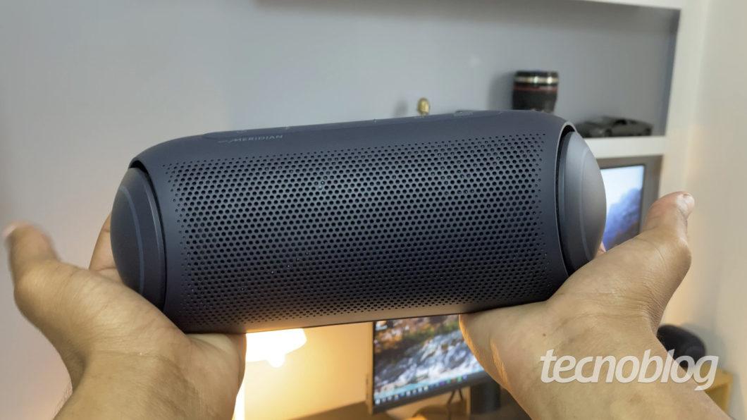 LG Xboom Go PL7 (Imagem: Darlan Helder/Tecnoblog)