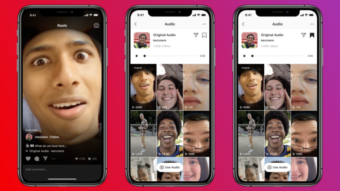 Instagram Reels adiciona recursos de áudio para imitar TikTok
