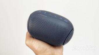 Caixa de som Bluetooth LG Xboom Go PL2: pequena com som gigante