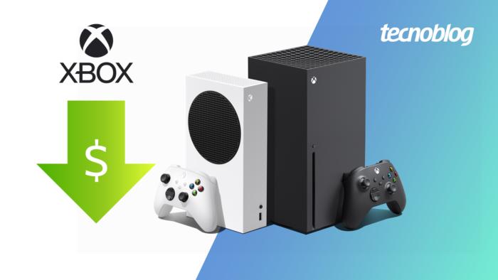 Xbox Series X e Xbox Series S ficam mais baratos no Brasil (Imagem: Vitor Pádua/Tecnoblog)