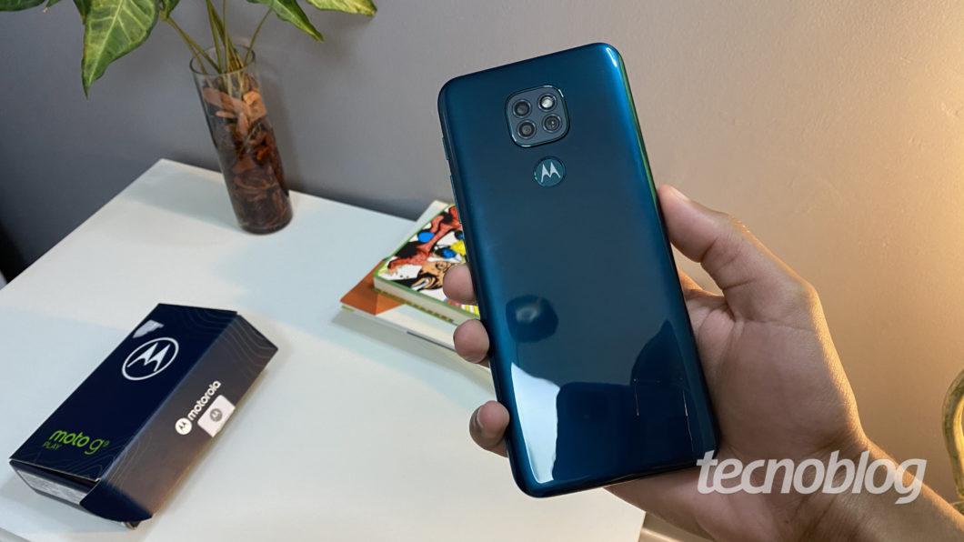 Motorola Moto G9 Play (Imagem: Darlan Helder/Tecnoblog)