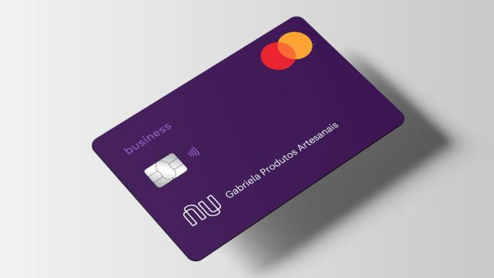 Cartão da conta PJ do Nubank (Imagem: Divulgação/Nubank)