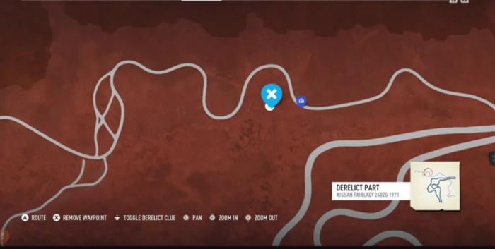 Os carros abandonados de Need for Speed Payback
