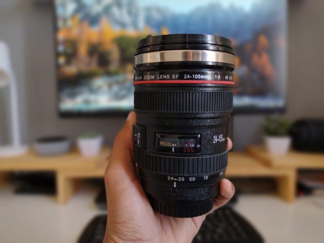 Foto tirada com a lente de profundidade do Motorola Moto G9 Play (Imagem: Darlan Helder/Tecnoblog)