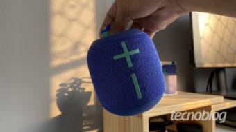 Caixa de som Bluetooth Ultimate Ears Wonderboom 2: compacta e com som 360º