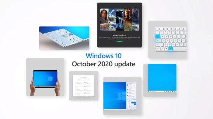 Windows 10 October 2020 Update (Imagem: Reprodução/Microsoft)
