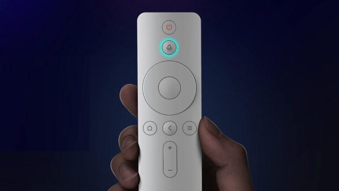Controle remoto da Mi Box 4S (Imagem: Divulgação/Xiaomi)