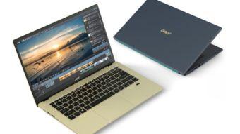 Acer Swift 3X é um dos primeiros notebooks com GPU Intel Iris Xe