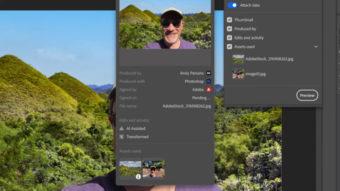 Adobe Photoshop consegue identificar se foto foi modificada
