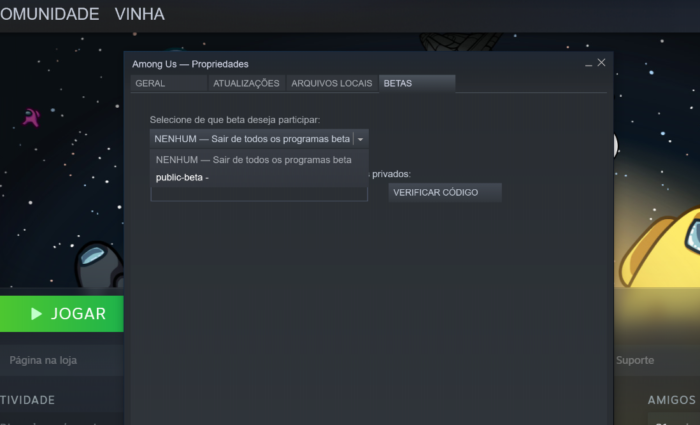 Saiba como jogar Among Us Beta (Imagem: Felipe Vinha/Tecnoblog)