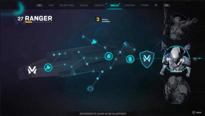 Exemplo de nova personalização de Anthem (Imagem: BioWare)