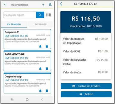 App dos Correios
