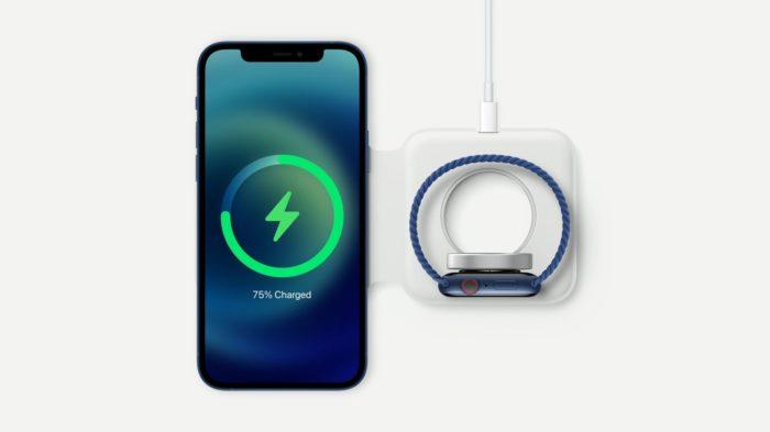 Carregador MagSafe Duo (Imagem: Divulgação/Apple)