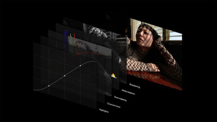 Camadas do Apple ProRAW (imagem: reprodução/Apple)