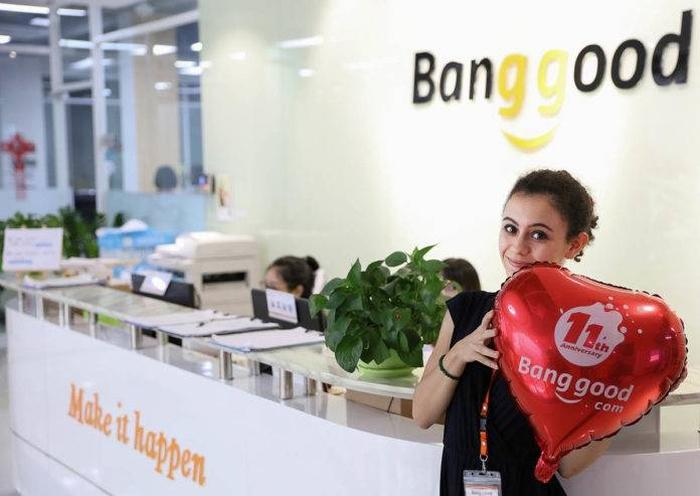 Escritório da Banggood (imagem: Banggood)